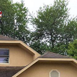 adjuster on roof