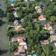 hurricane harvey covers Houston