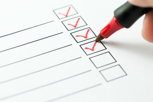 Insurance claims checklist